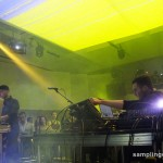 Nicolas Jaar performing Starting from Scratch at the Museum of Contemporary Art, Montreal.